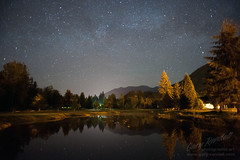 While The City Sleeps (Gary Randall) Tags: reflection night oregon stars resort nighttime golfcourse nights nightsky starry milkyway starrynights welches dsc08863 theresortatthemountain