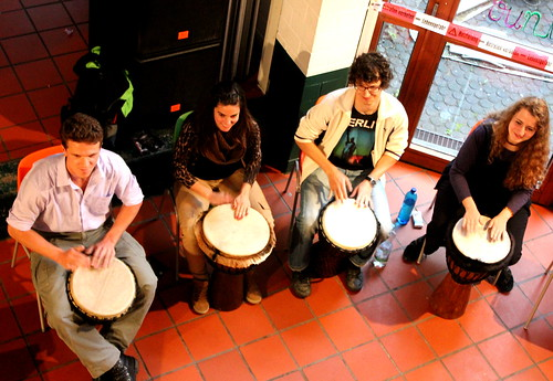 Drum Circle - Percussion Academy - Universität Trier