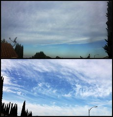 Skies Filled With Cloud Remnants From The Chemtrail Spraying The Previous Day (5-21-13) Photo #3 (54StorminWillyGJ54) Tags: california sky weather clouds skyscape spring skies atmosphere skyscapes westcoast mothernature meteorology greatoutdoors may2013 spring2013