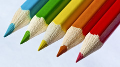 Coloured Pencils (AntiSilence) Tags: abstract pencils bright colourful colouredpencils