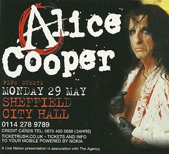 05/29/06 Alice Cooper/ Special Guest @ Sheffield City Hall, Sheffield, England (NYCDreamin) Tags: alicecooper sheffieldcityhall 052906 sheffieldengland