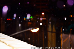 Raindrop   ( Nana) Tags: light night colorful rainyday natural bokeh taiwan  raindrop  taiwan