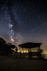 Waiting for a star to fall (Vagelis Pikoulas) Tags: stars star space universe sky galaxy milky milkyway way long exposure night nightscape landscape canon 6d tokina 1628mm view greece porto germeno 2016 summer august selfshot selfie
