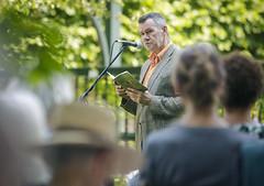 Jan Baeke op het theeveld