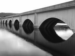 Ladybower (jeff.dugmore) Tags: bridge reflection water nationalpark derbyshire peakdistrict olympus reservoir ladybower