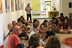 Visita guiada a estudiantes de la Universidad de los Andes (cfcecartagena) Tags: visita fotografa origenypensamiento coque gamboa