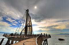 Playa Los Muertos Pier (Rex Montalban Photography) Tags: rexmontalbanphotography mexico puertovallarta hdr playalosmuertospier