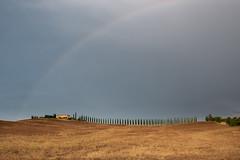 Rainbow in Valdorcia (Di_Chap) Tags: strom italie summer tuscany italy valdorcia