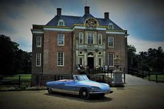 ICCCR... (CitroenAZU) Tags: citroen ds henri chapron middachten castle de steeg holland cabriolet le caddy icccr 16 16th meeting worldmeeting international car club