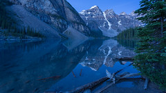 Icy Blues in Banff (Ken Krach Photography) Tags: lakemoraine