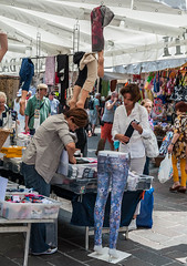 I know I have a spare pair of legs here somewhere? (swordscookie back and trying to catch up!) Tags: desenzanodelgarda lakegarda italy lombardy summer marketstall trousers legs cover shade