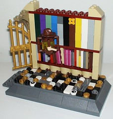 366 Days of Jr Lego Day 240 (adventuresinlego) Tags: lego moc legomoc harrypotter 365daysoflego 365project 366daysoflego hogwarts jkrowling