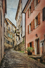 SL120616 Motovun 48 (Sh4un65_Artistry) Tags: artwork city croatia croatiaholiday2016 digitalart digitalpainting events landscape painteffect paintedphoto painterly places streets textured topaz topazimpression topaztextureeffects