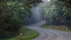 Road through the forest (na_photographs) Tags: landstrase strase road car driving germany holidays cruising curve kurve
