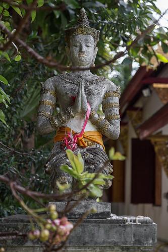 2016/07/25 16h24 statuette (Wat Chiang Man)