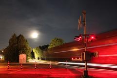 Moonlite racer (MILW157) Tags: cp rail canadian pacific cross street oconomowoc watertown sub full moon track work
