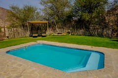 20160905 163 Khowarib Lodge (scottdm) Tags: 2016 africa august gorge hoanibriver intrepid khowariblodge namibia pool swimmingpool tour travel trip kuneneregion na