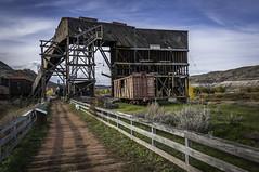 Tipple (iDrifter) Tags: atlascoalmines coal mine coalminestimber tipple rrtracks hopper vanlife drumheller eastcoulee