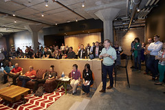Customer Experience -BS0U7467 (TechweekInc) Tags: techweek event 2016 startup technology tw innovation kansas city tech kc fest customer experience smi digita local brews insights cto jason taylor stackify software speaker condado group