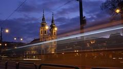 Batthyny tr (bencze82) Tags: batthyny tr budapest city vros jszaka night tram villamos templom church square canon eos 700d voigtlnder colorskopar slii 20 mm f35 magyarorszg hungary