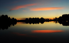 Work of the Master's Hand (Poocher7) Tags: sky sunset dusk outdoor reflection river water silhouette clouds pretty beautiful amazing lovely awesome wonderful still quiet peaceful tranquil relaxing calming love ontario canada