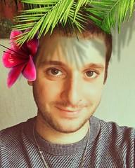 Selfie (Divinidoles) Tags: instagramapp square squareformat iphoneography aloha followme snapchat hello itsme hellofromtheoutside hellofromtheotherside me myself memyselfandi selfie gayselfie selfiegay instagay gaystagram gay gayme megay gaybear gayguy gayman gayboy myface lgbt smile rightnow flower flowerpower justme thisismethen