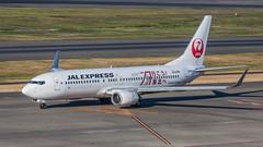Jal Express JA331J pmbcb-0706 (andreas_muhl) Tags: 5dmark2 737800 hnd ja331j jalexpress sonderbemalung boeing planespotting aviation airplane aircraft 737846wl haneda japan tokio