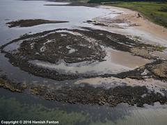 I-SPY Geology (->>Hamish) Tags: kingsbarns fife scotland geology september2016 kiteaerialphotography kap