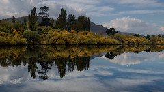 Derwant River reflections (RoosterMan64) Tags: australia clouds derwantriver landscape reflection reflections tasmania