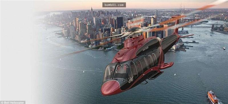這架要有4.6億才能擁有的直升機…奢華至極的設計完全就像是在空中飛的豪宅!