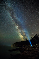 Andrew Martin_Milky Way and Otter Cliff 080216a copy (davidakoubian) Tags: acadianationalpark rockycoastline maine