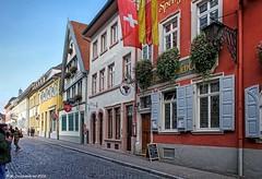 Old Town Heidelberg Germany in south-west Germany (PhotosToArtByMike) Tags: heidelberggermany heidelberg medieval germany heiliggeiststrase street neckarriver marketplatz marketsquare karlstor carlsgate neckarvalley badenwrttemberg europe