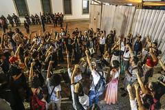 Mobilizao para Greve GERAL  22/09/2016  Rio de Janeiro RJ (midianinja) Tags: verde grevegeral brasil democracia trabalhadores mulher primavera greve contragolpe foratemer nenhumdireitoamenos rio candelaria centro rua ativismo luta br nacional unificado povosemmedo brasilpopular esquerdasocialista