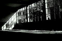Welcome to the Darkside (wolfi8723) Tags: abandoned window lostplace old indoor inside light shadow forgotten