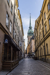 Gamla Stan - Stockholm (virginieb20) Tags: storkyrkan oldtown gamlastan stockholm sweden sverige sude city ville cityscape street photography photographie canon6d canon24105mm colors travel trip voyage town old ancien vieille outdoor downtown canon architecture alley building