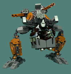 Revotain [Defence] 4 (Folisk) Tags: bionicle gung0rt lego moc ldd digital designer pov hero factory technic mecha turret machine attack starch mounted