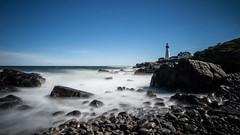 Portland Headlight (atralux) Tags: indiansummer lighthouse maine portland portlandheadlight usa lte longtimeexposure