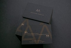 Azucena Murcia (El Calotipo) Tags: businesscards tarjetas letterpress serigrafa silkscreen screenprinting design diseo printing