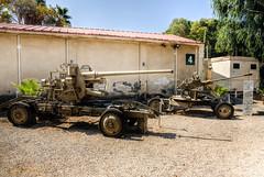 artillery (2) (maskirovka77) Tags: israeldefenseforces idf museum idfmuseum tanks m48 outdoors hdr armoredcar artillery antiaircraft armoredpersonnelcarrier bridgingequipment
