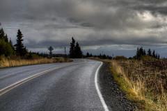 The High Road (tpeters2600) Tags: tamronaf18270mmf3563diiivcldasphericalif canon eos7d photomatix hdr alaska outdoors landscape road cycling randonneurs homer eastend auyumn fall autumninalaska