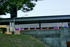 Swarthmore SEPTA Station (en tee gee) Tags: septa commuter swarthmore pa train station