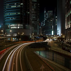 1IFC / Bank of China (benmfulton) Tags: china longexposure architecture hongkong nikon cityscape lighttrails ifc manfrotto impei d800 bankofchina urbanphotography nighttimephotography csarpelli ifcone ifc1 nikkor2470f28 impeipartners benmfulton csarpelliassociationarchitects