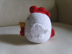 Galletto (Armonie di filo) Tags: gallo amigurumi filo gallina pulcino uncinetto cotone gelletto
