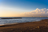Sunset and clouds on Vesuvius (PietroEsse) Tags: sunset clouds tramonto nuvole vesuvius vesuvio canoneos350d canonefs1855 castellammaredistabia