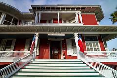 Victorian Inn, Galveston (Erik Pronske) Tags: travel house galveston home car architecture breakfast bed inn stair texas district victorian historic voigtlnder12mm