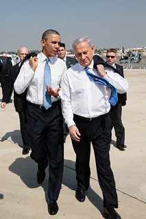 From flickr.com/photos/35591378@N03/8637772703/: Obama and Netanyahu