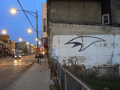 overunder (httpill) Tags: streetart chicago art graffiti tag graf overunder