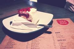 Red Velvet (ainasaputri) Tags: red food cake cheese indonesia yummy cream velvet delicious rush bandung suga braga sugarush