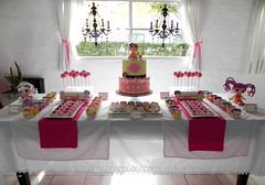 Lalaloopsy - Sophia's Party!! (Mily'sCupcakes) Tags: pink party argentina buenosaires cookie cupcake sophias bakingcups vitaminewater cakepops lalaloopsy mily´scupcakes pinkstripedstraws