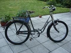Wanderer Ballonrad Bj.1935 (ziegelrotefahrradreifen) Tags: fahrrad wanderer altes